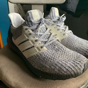 Used Adidas Ultraboost 3.0 cookies and cream 12
